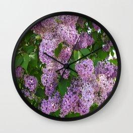 Lilacs pt.2 Wall Clock