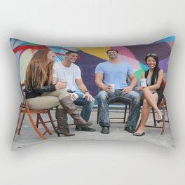 Break Time Rectangular Pillow