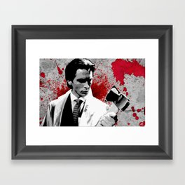 Patrick Bateman American Psycho Pop Art Movie Poster Film Print Framed Art Print