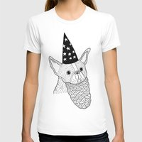 wizard T-shirts featuring Dog Wizard by Michael C. Hsiung