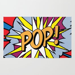 POP Art Exclamation Rug