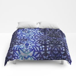 Ari's Blue Comforters