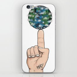 The World is Yours iPhone Skin