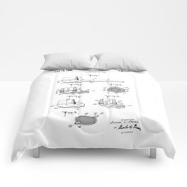 patent art Atkins Tobacco Pipe 1949 Comforters