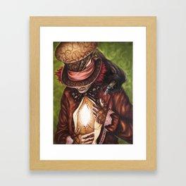 The Hatter's Search Framed Art Print