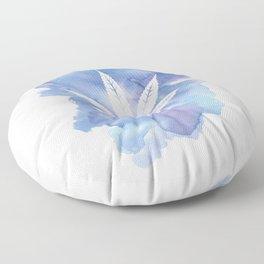 One Love: Blue Floor Pillow