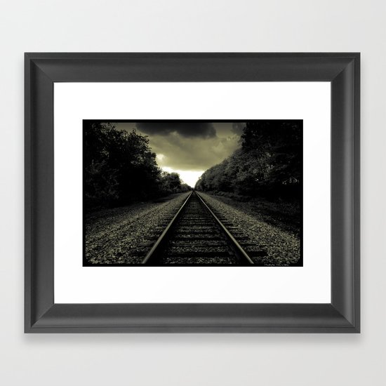 Out of Darkness Framed Art Print