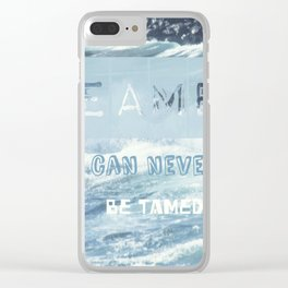 DREAMERS#2 Clear iPhone Case