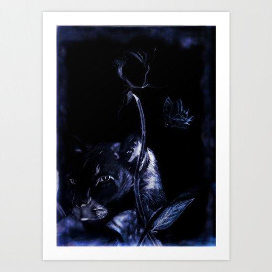 Nice Kitty Art Print