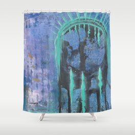 Patina Of Decay Shower Curtain