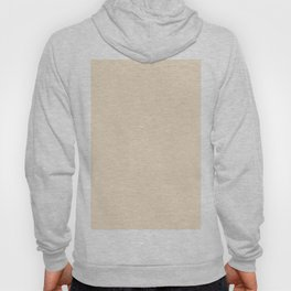 Champagne Solid Color Hoody