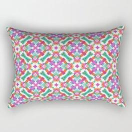 Watercolor Boho Dash 2 Rectangular Pillow