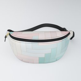 Pastel Chevron Pattern Fanny Pack