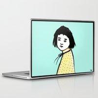 plain Laptop & iPad Skins featuring Plain Jane by Michelle Christensen
