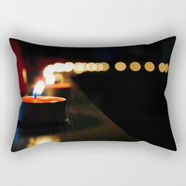Candles Rectangular Pillow