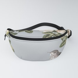 Birds and the Bees Gray Fanny Pack