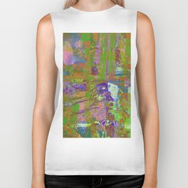 Abstract Thoughts Biker Tank