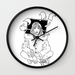 Overworked Wall Clock