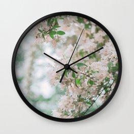 spring #society6 #decor #buyart Wall Clock