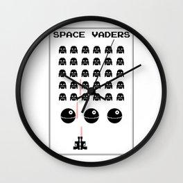 Space Vaders Wall Clock