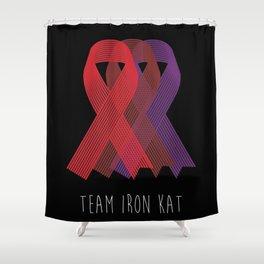 Team Iron Kat Shower Curtain
