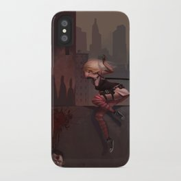 Bambi the Zombie Slayer iPhone Case