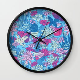 Tulum Wall Clock