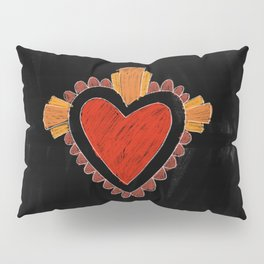 Black love Pillow Sham
