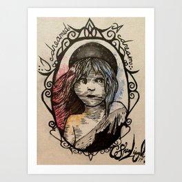 Cosette, I dreamed a dream Art Print