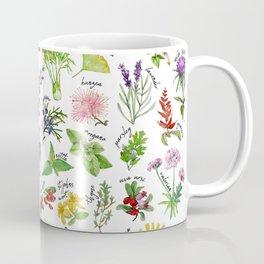 Plants & Herbs Alphabet Coffee Mug