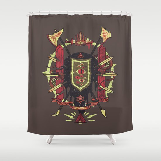 Astral Ancestry Shower Curtain