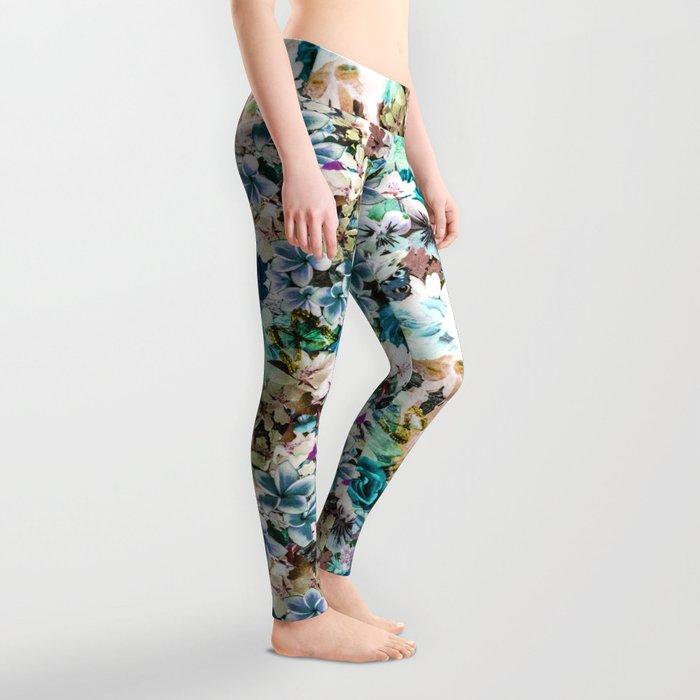 Floral Pattern V2 Leggings