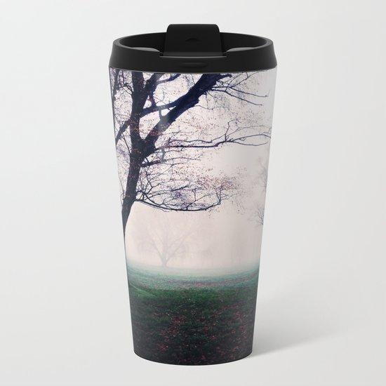 Mystical forest Metal Travel Mug