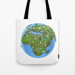 Data Earth Tote Bag