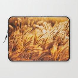 golden wheat field Laptop Sleeve