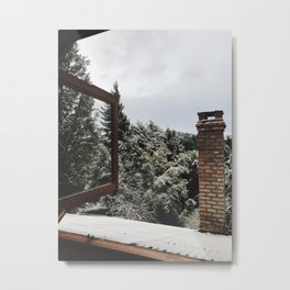 The view from my window in Bariloche Metal Print