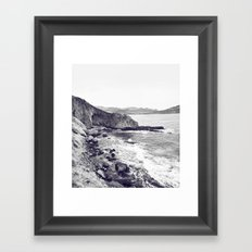 Tristes rivages Framed Art Print