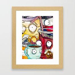 Caffine  Framed Art Print