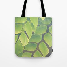 Fern Abstract Tote Bag