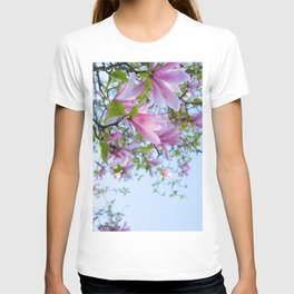 Magnolia trees in bloom  T-shirt