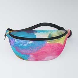 Abstract watercolor spot background Fanny Pack
