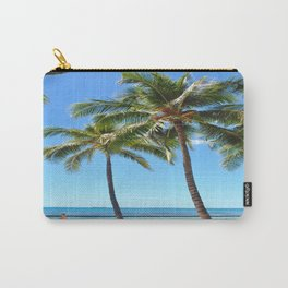 Palm Tree with Hawaii Summer Sea Beach Carry-All Pouch