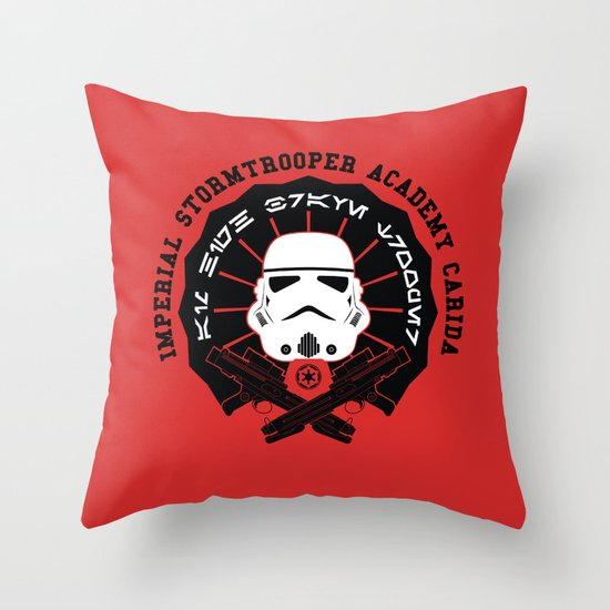 Imperial Academy Throw Pillow