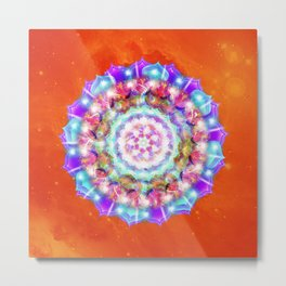 Flower of Faith Metal Print
