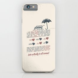 Love Actually iPhone Case