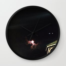 Phantoms Wall Clock