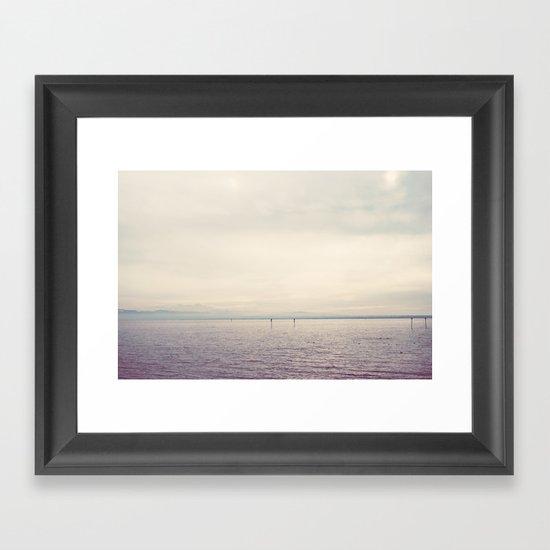my kind of landscape ... Framed Art Print