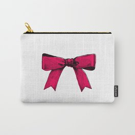 redpink ribbon Carry-All Pouch