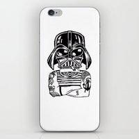 sith iPhone & iPod Skins featuring Sith Life by Finah Ehsan