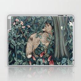 William Morris Forest Fox Tapestry Laptop & iPad Skin